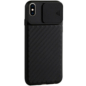 Купить Силиконовый чехол iLoungeMax Protection Anti-impact Luxury Black для iPhone X | XS