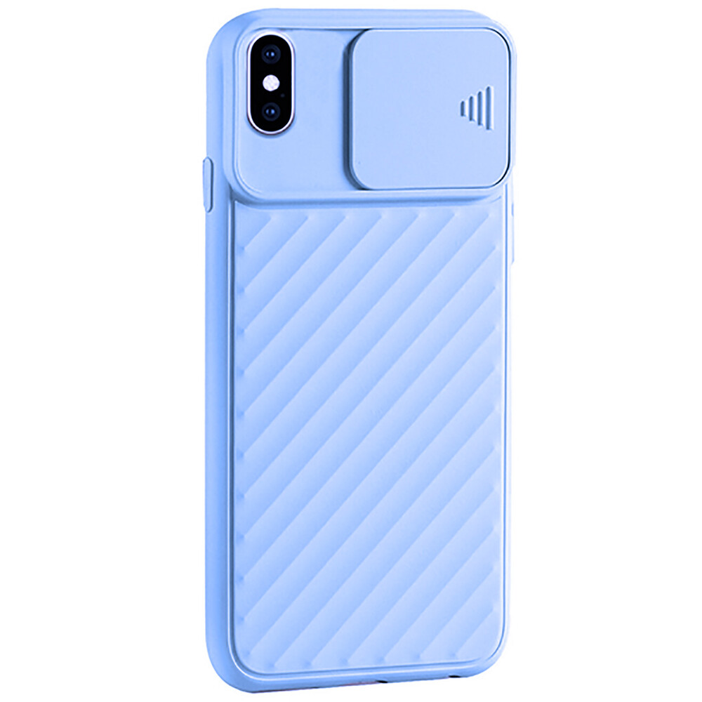 Купить Силиконовый чехол oneLounge Protection Anti-impact Luxury Purple для iPhone X   XS