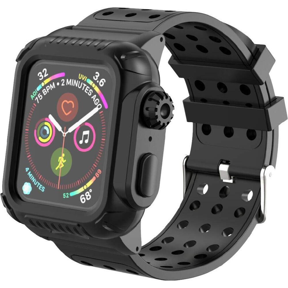 Противоударный чехол-ремешок iLoungeMax Shockproof Rugged для Apple Watch 40mm SE   6   5   4