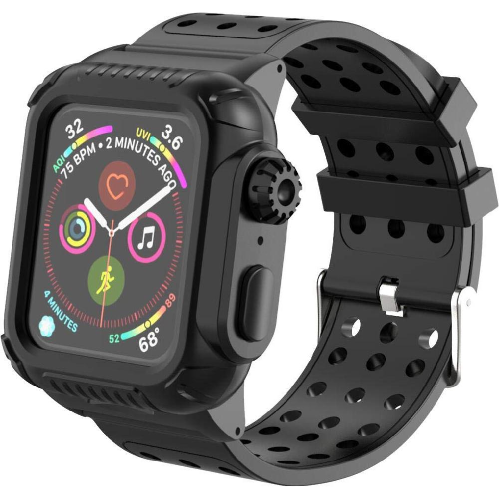 Купить Противоударный чехол-ремешок oneLounge Shockproof Rugged для Apple Watch 40mm SE | 6 | 5 | 4