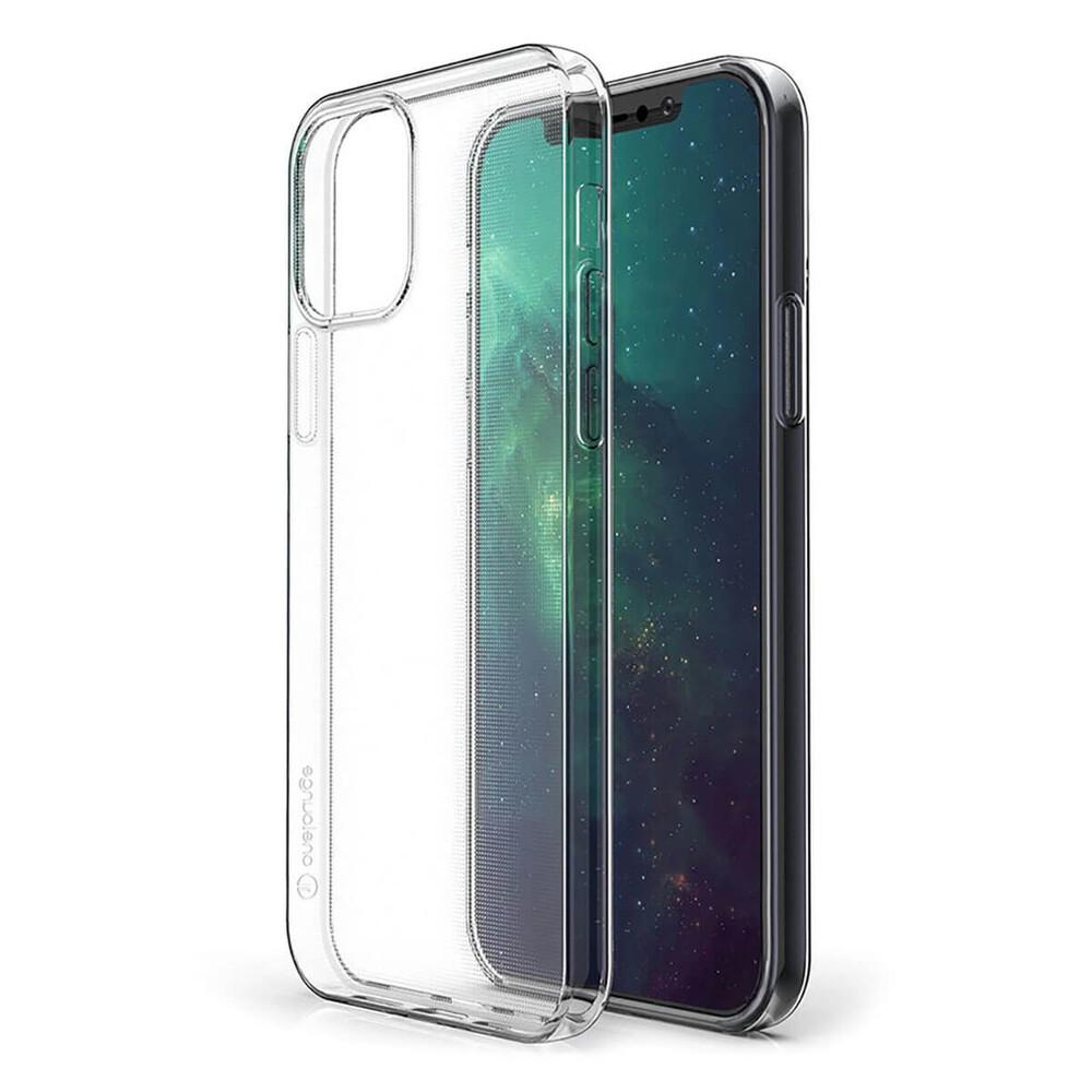 Тонкий прозрачный TPU чехол oneLounge SilicolDots для iPhone 12 Pro Max