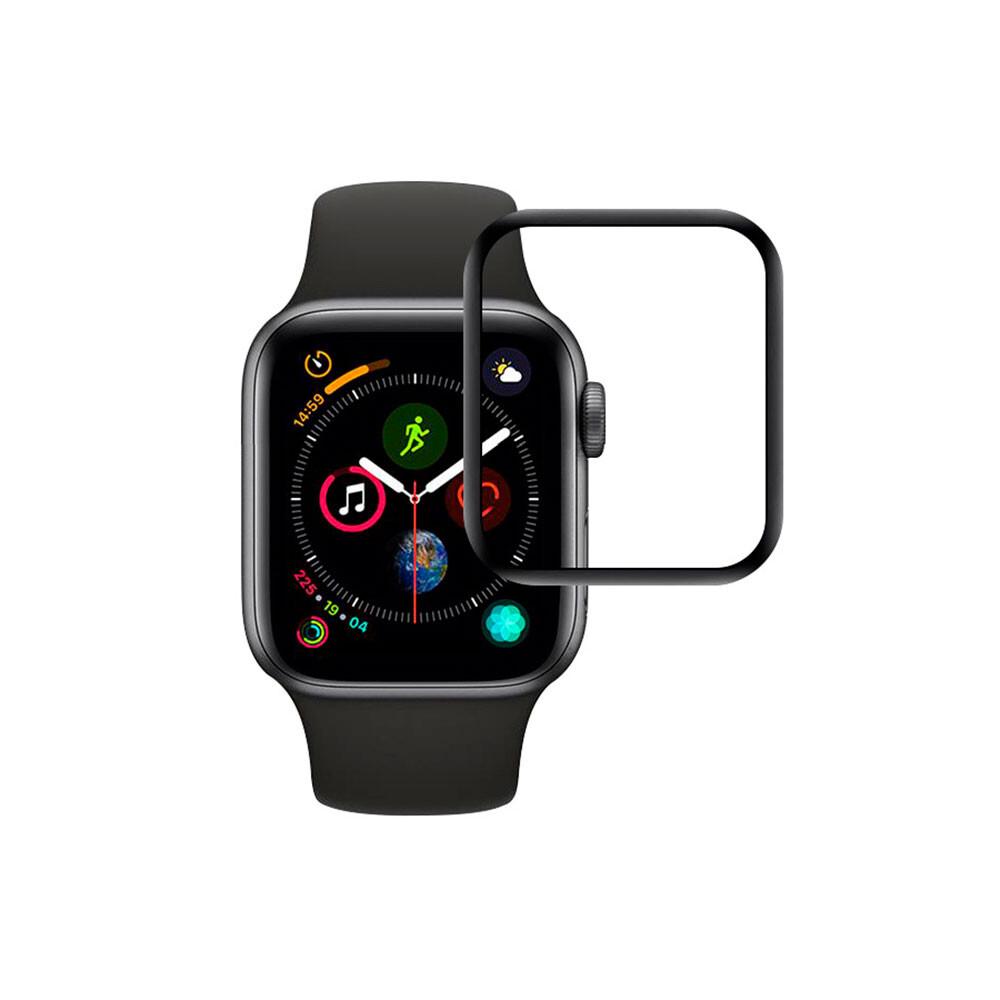Защитное стекло oneLounge SilicolEdge для Apple Watch 44mm SE | 6 | 5 | 4