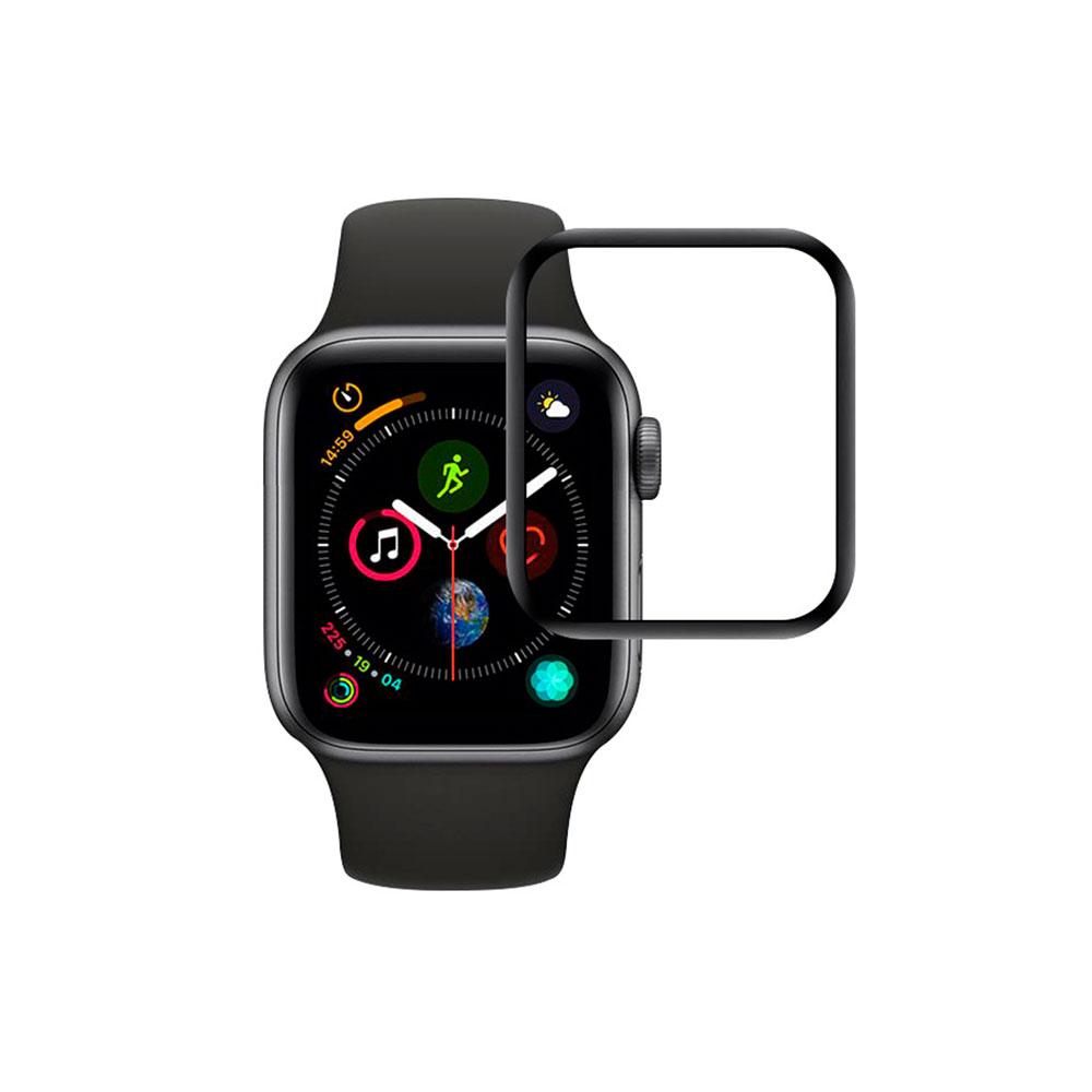 Купить Защитное стекло oneLounge SilicolEdge для Apple Watch 44mm SE | 6 | 5 | 4