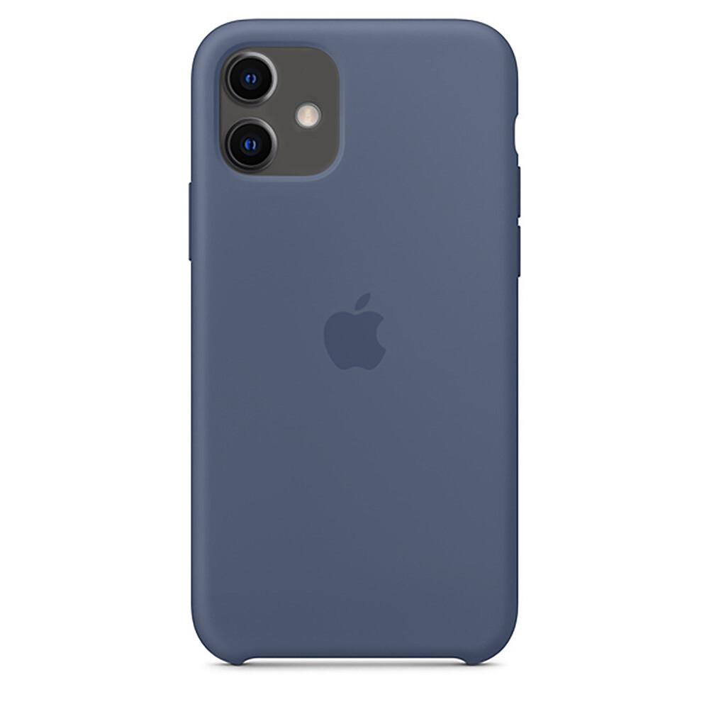 Силиконовый чехол oneLounge Silicone Case Alaskan Blue для iPhone 11 OEM