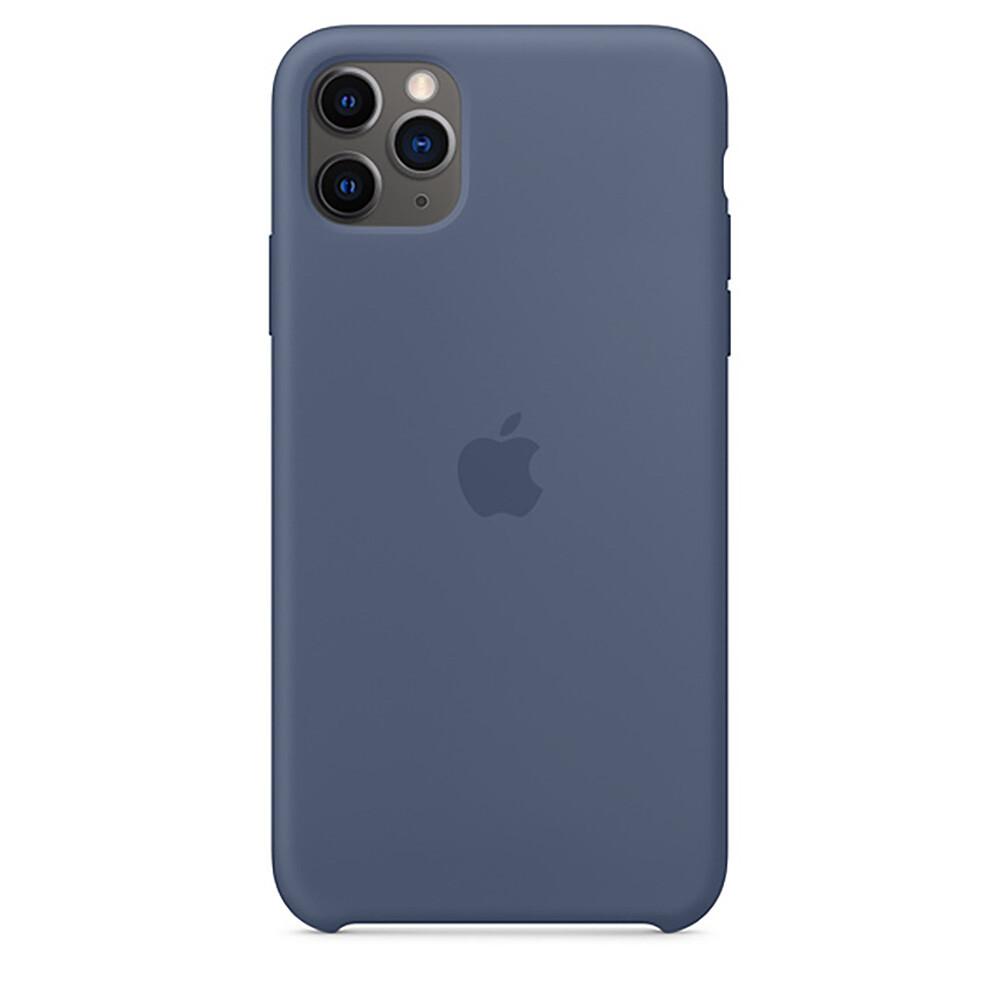 Силиконовый чехол oneLounge Silicone Case Alaskan Blue для iPhone 11 Pro Max OEM (MX032)