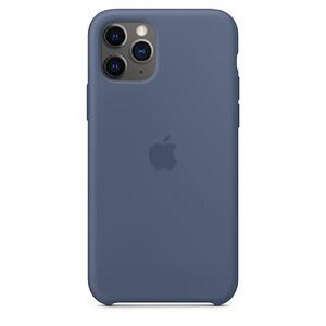Купить Силиконовый чехол iLoungeMax Silicone Case Alaskan Blue для iPhone 11 Pro OEM (MWYR2)
