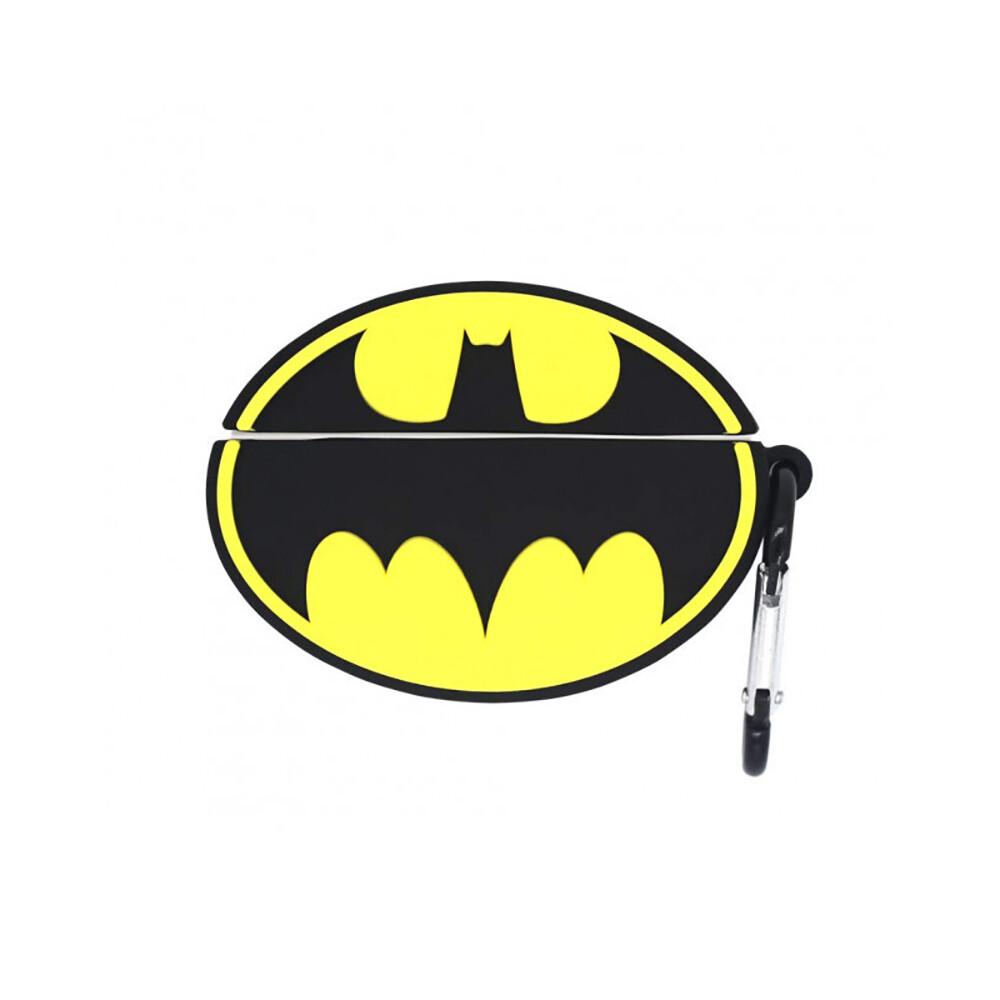 Силиконовый чехол с карабином iLoungeMax Silicone Case Batman Icon для AirPods Pro