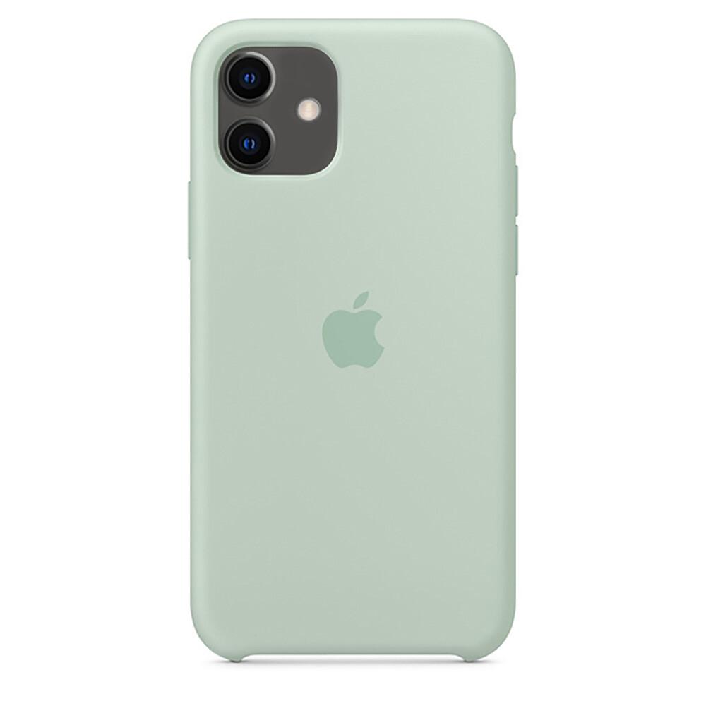 Силиконовый чехол oneLounge Silicone Case Beryl для iPhone 11 OEM