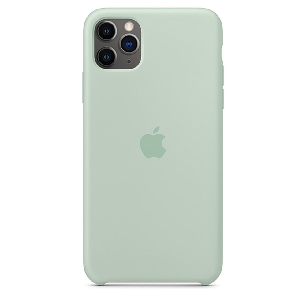 Силиконовый чехол oneLounge Silicone Case Beryl для iPhone 11 Pro Max OEM (MXM92)
