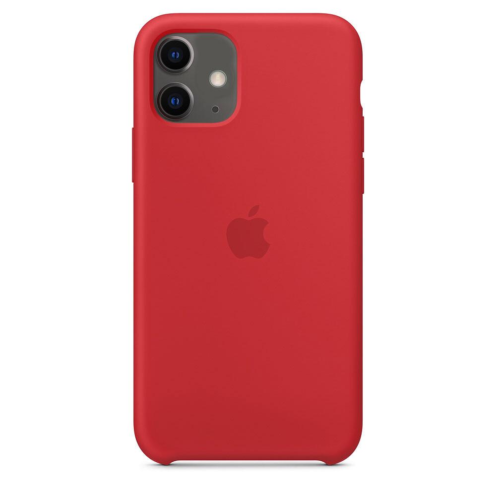 Силиконовый чехол iLoungeMax Silicone Case Red для iPhone 11 OEM