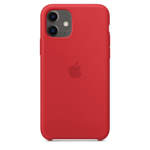 Купить Силиконовый чехол oneLounge Silicone Case Red для iPhone 11 OEM