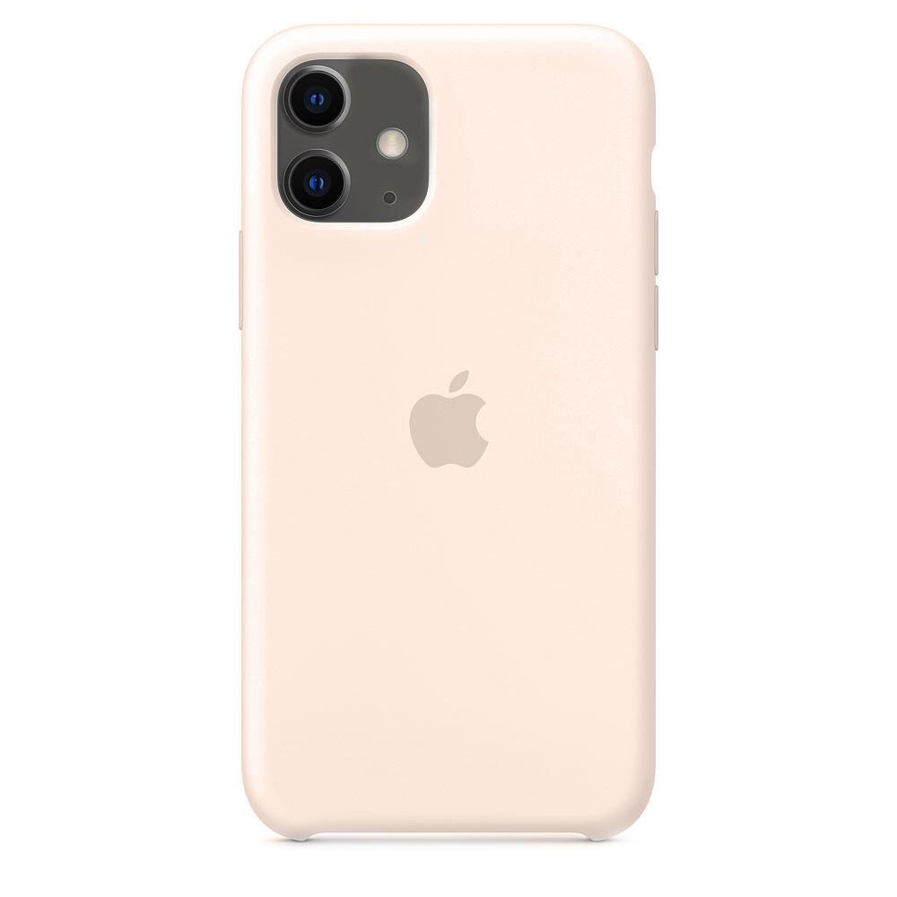 Силиконовый чехол oneLounge Silicone Case Pink Sand для iPhone 11 OEM
