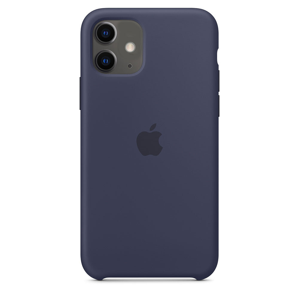 Силиконовый чехол oneLounge Silicone Case Midnight Blue для iPhone 11 OEM