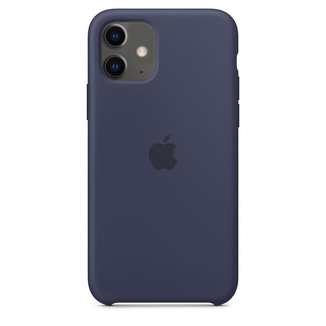Силиконовый чехол oneLounge Silicone Case Midnight Blue (Копия) для iPhone 11 Купить