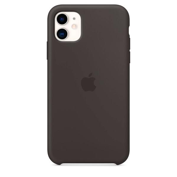 Силиконовый чехол iLoungeMax Silicone Case Black для iPhone 11 OEM (MWVU2)