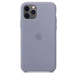 Купить Силиконовый чехол oneLounge Silicone Case Lavender Gray для iPhone 11 Pro Max OEM