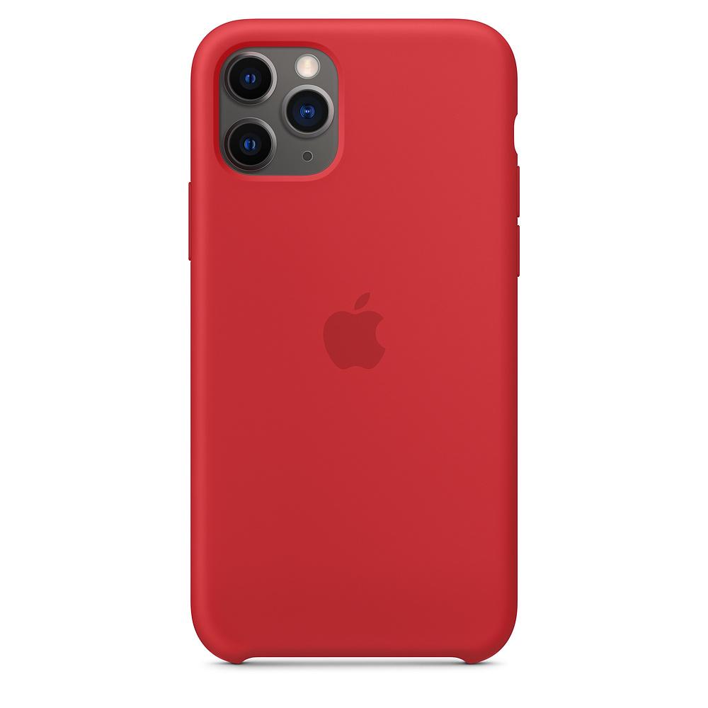 Купить Силиконовый чехол iLoungeMax Silicone Case (PRODUCT)RED для iPhone 11 Pro Max OEM (MWYV2)