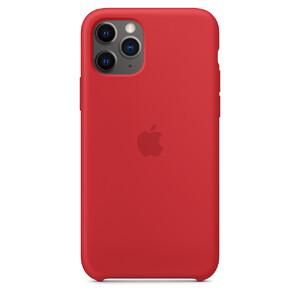 Купить Силиконовый чехол oneLounge Silicone Case Red для iPhone 11 Pro OEM