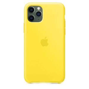 Купить Силиконовый чехол oneLounge Silicone Case Lemonade для iPhone 11 Pro OEM