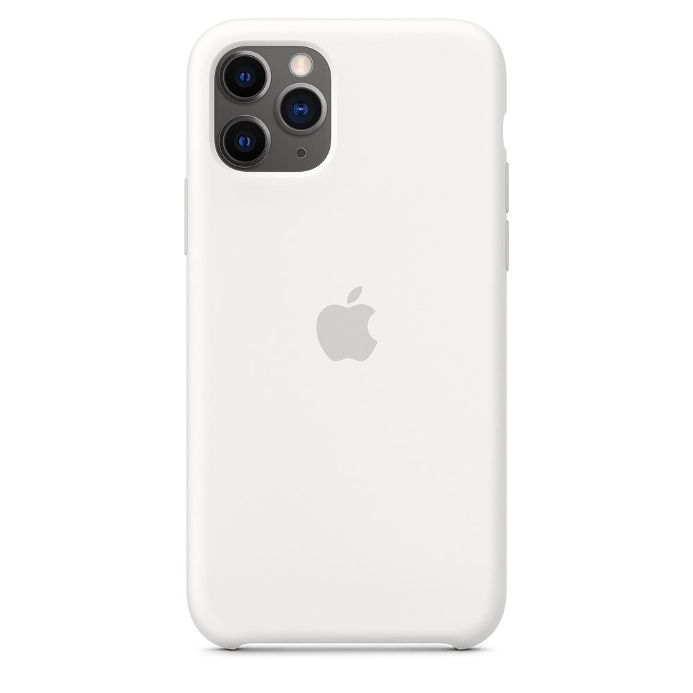 Купить Силиконовый чехол oneLounge Silicone Case White для iPhone 11 Pro OEM (MWYL2)