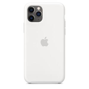 Купить Силиконовый чехол oneLounge Silicone Case White для iPhone 11 Pro Max OEM (MWYX2)