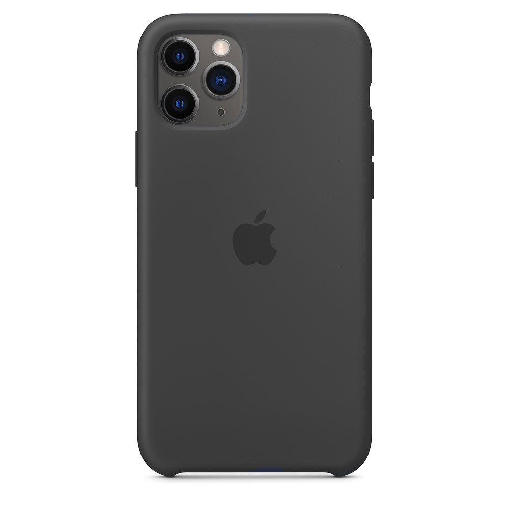 Силиконовый чехол oneLounge Silicone Case Black для iPhone 11 Pro Max OEM (MX002)