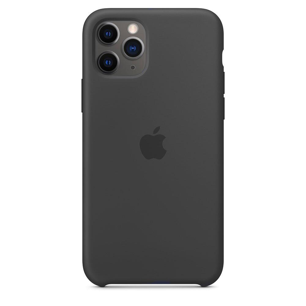 Силиконовый чехол iLoungeMax Silicone Case Black для iPhone 11 Pro OEM (MWYN2)