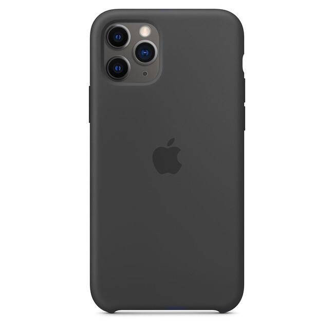 Силиконовый чехол oneLounge Silicone Case Black (Копия MWYN2) для iPhone 11 Pro Купить
