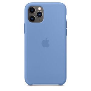 Купить Силиконовый чехол oneLounge Silicone Case Denim Blue для iPhone 11 Pro Max OEM