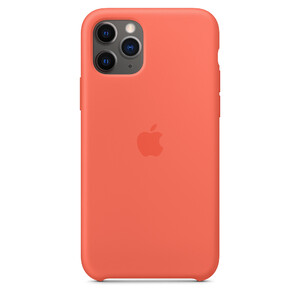 Купить Силиконовый чехол oneLounge Silicone Case Nectarine для iPhone 11 Pro OEM