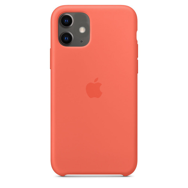Силиконовый чехол iLoungeMax Silicone Case Nectarine для iPhone 11 OEM