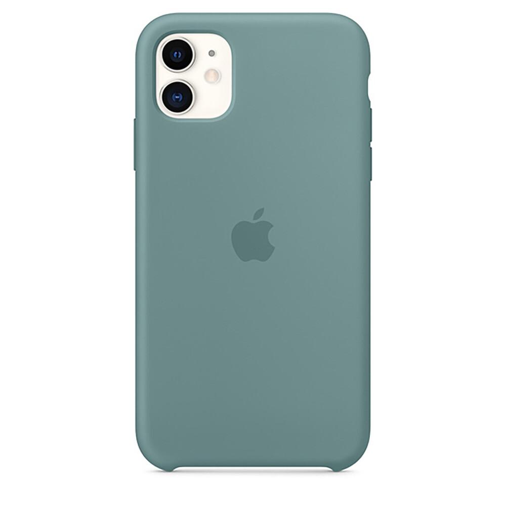 Силиконовый чехол oneLounge Silicone Case Cactus для iPhone 11 OEM (MXYW2)