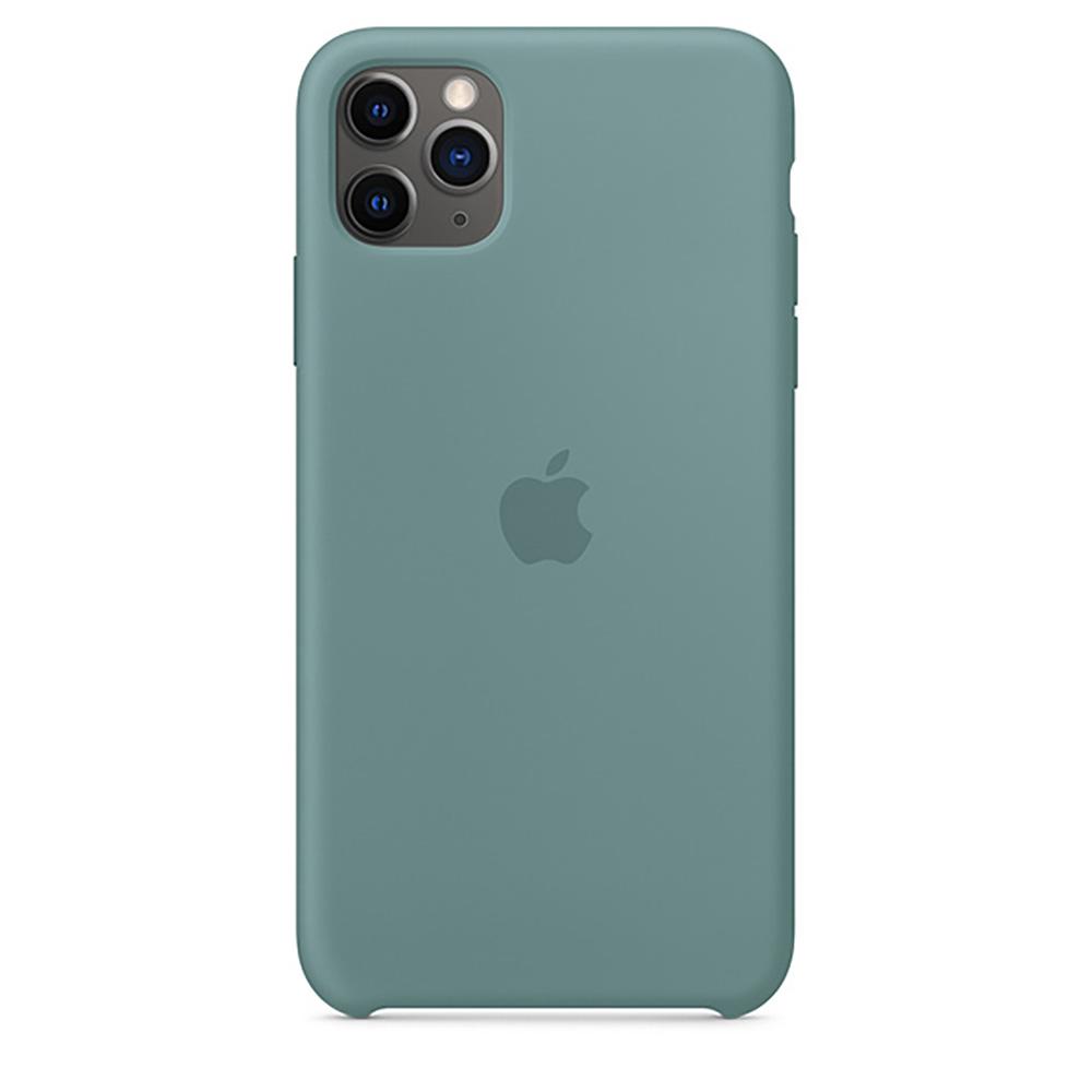 Купить Силиконовый чехол iLoungeMax Silicone Case Cactus для iPhone 11 Pro Max OEM (MY1G2)