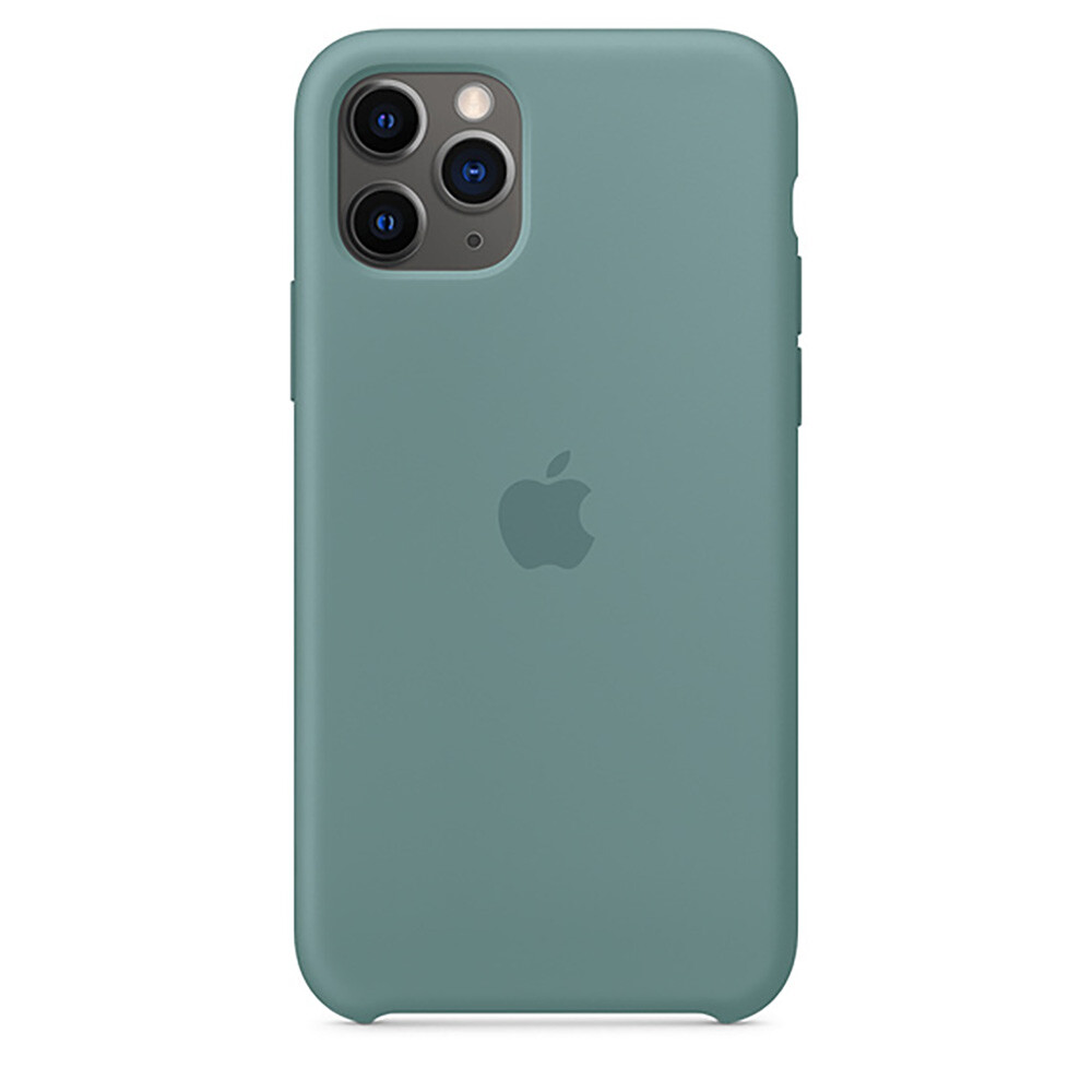 Силиконовый чехол oneLounge Silicone Case Cactus для iPhone 11 Pro OEM (MY1C2)