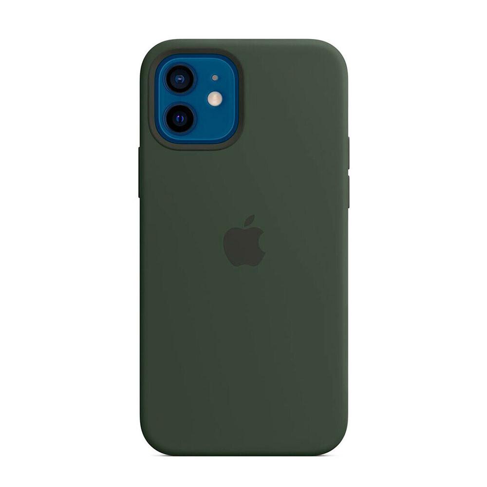 Купить Cиликоновый чехол oneLounge Silicone Case Cyprus Green для iPhone 12 mini OEM (без MagSafe)