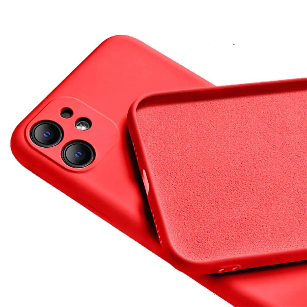 Силиконовый чехол iLoungeMax Silicone Case Full Camera Protective Red для iPhone 11