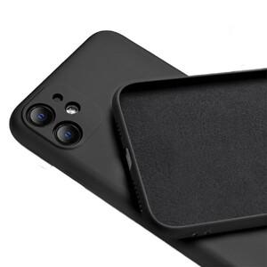 Купить Черный силиконовый чехол oneLounge Silicone Case Full Camera Protective Black для iPhone 11