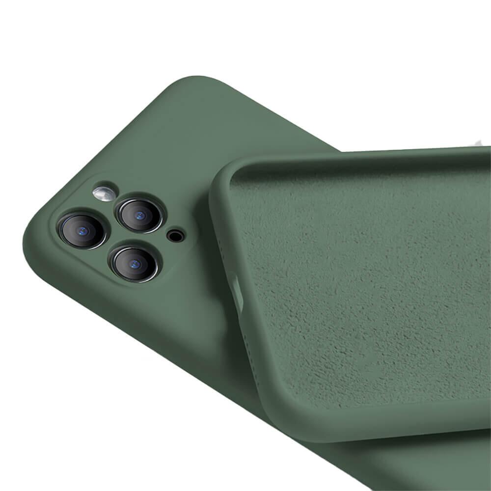 Силиконовый чехол iLoungeMax Silicone Case Full Camera Protective Forest Green для iPhone 11 Pro Max