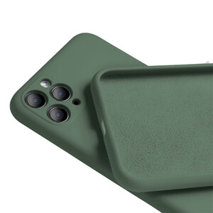 Купить Силиконовый чехол oneLounge Silicone Case Full Camera Protective Forest Green для iPhone 11 Pro Max