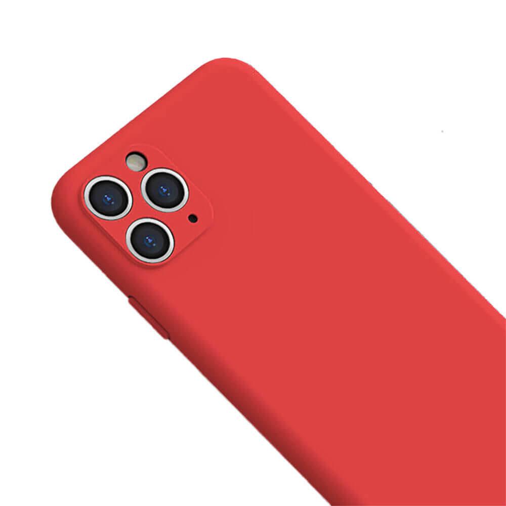 Силиконовый чехол iLoungeMax Silicone Case Full Camera Protective Red для iPhone 11 Pro Max