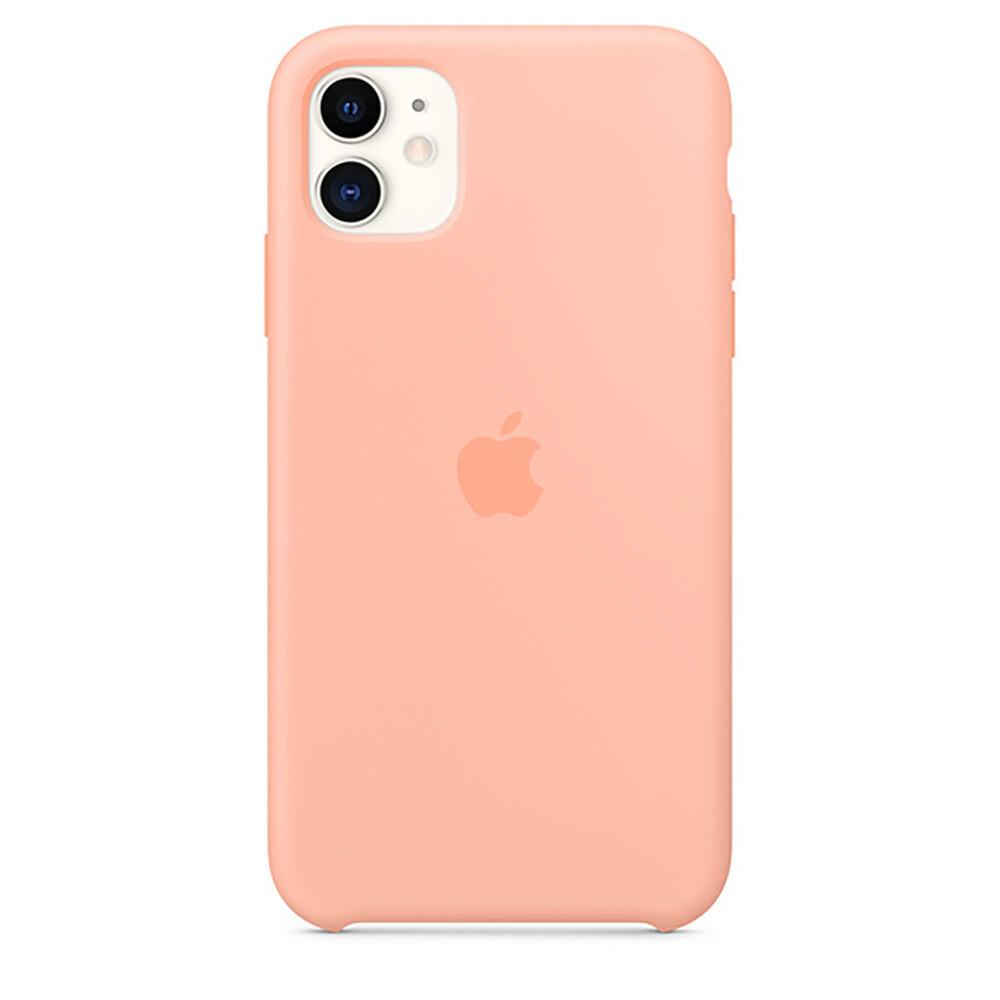 Силиконовый чехол iLoungeMax Silicone Case Grapefruit для iPhone 11 OEM (MXYX2)