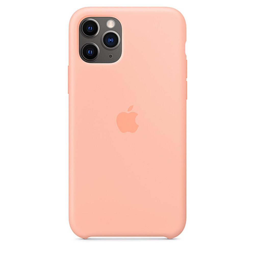Силиконовый чехол oneLounge Silicone Case Grapefruit для iPhone 11 Pro OEM (MY1E2)
