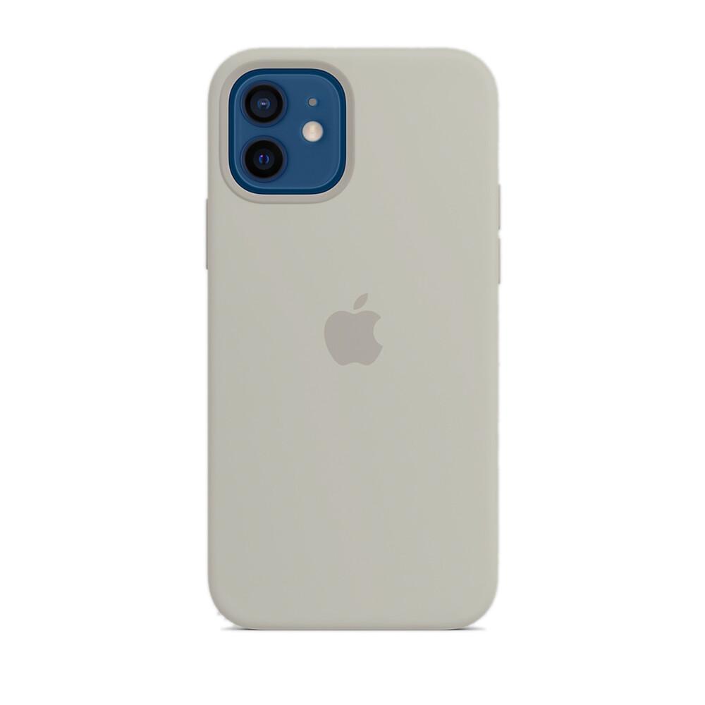 Купить Силиконовый чехол oneLounge Silicone Case Gray для iPhone 12 | 12 Pro OEM