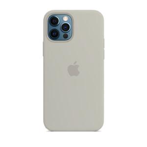 Купить Силиконовый чехол iLoungeMax Silicone Case Gray для iPhone 12 Pro Max OEM