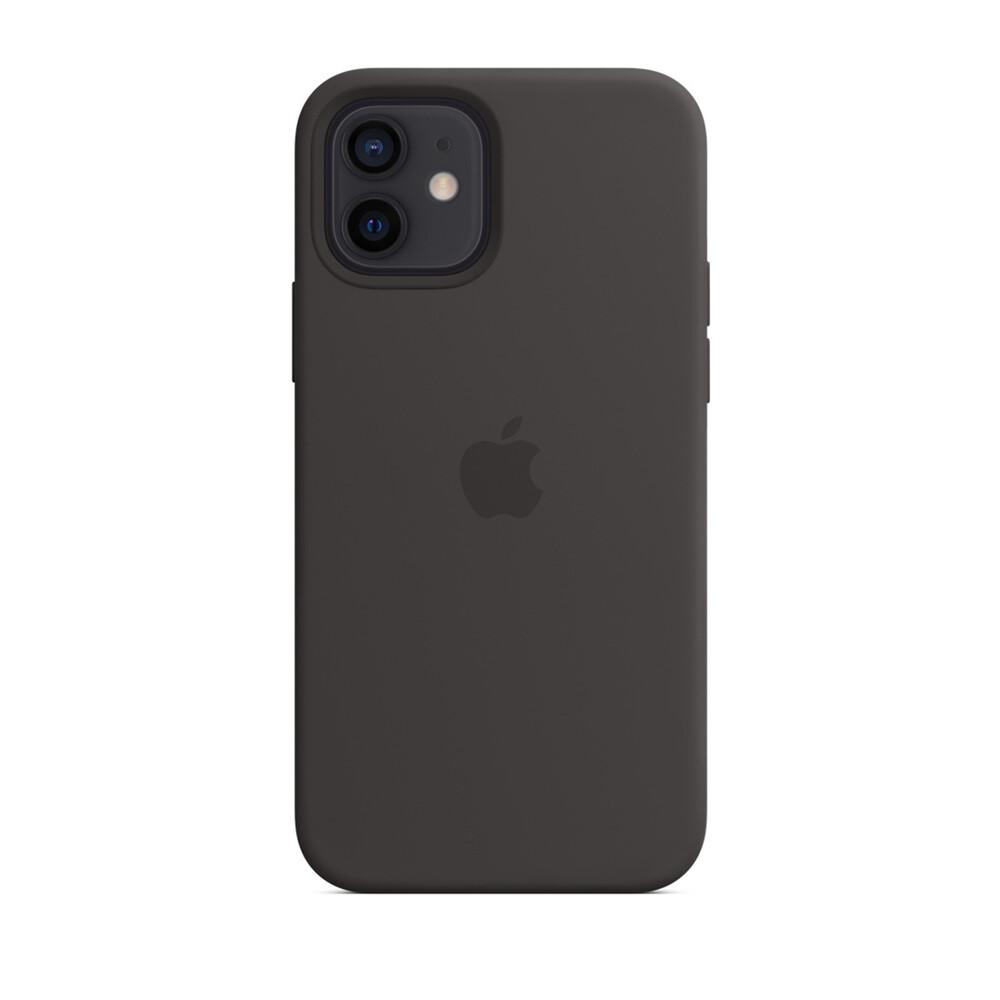 Купить Черный силиконовый чехол oneLounge Silicone Case для iPhone 12 mini OEM