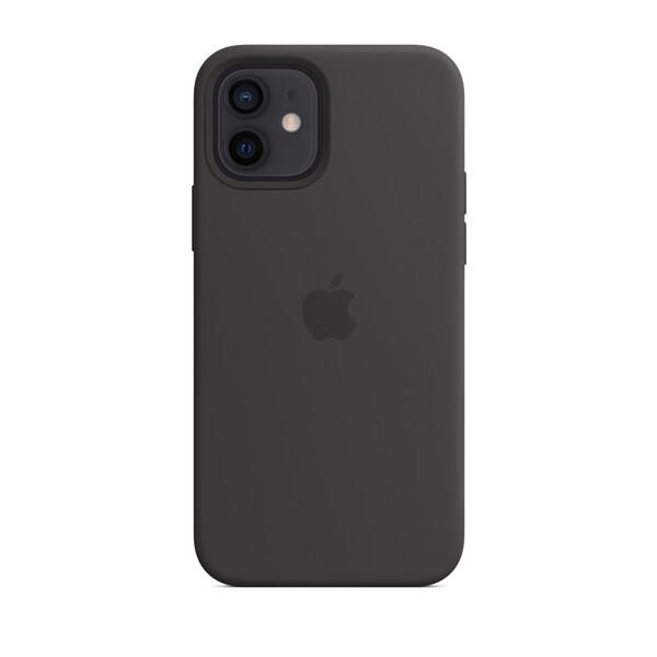 Черный силиконовый чехол iLoungeMax Silicone Case для iPhone 12 mini OEM