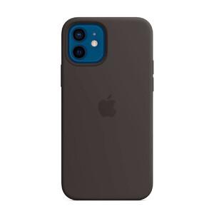 Купить Черный силиконовый чехол oneLounge Silicone Case Black для iPhone 12 mini OEM (без MagSafe)