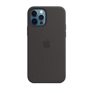 Купить Черный силиконовый чехол iLoungeMax Silicone Case для iPhone 12 Pro Max OEM
