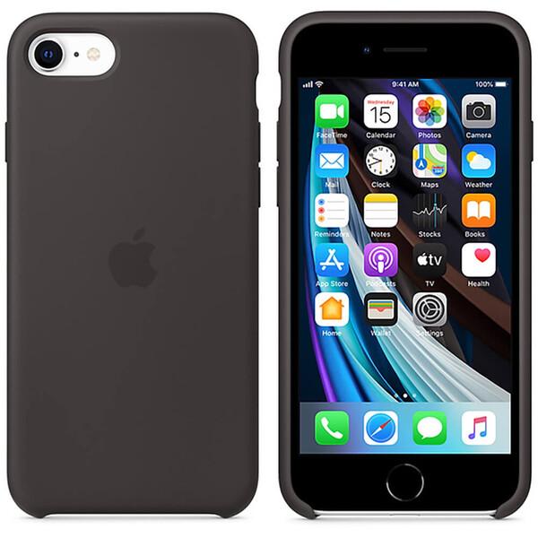 Силиконовый чехол iLoungeMax Silicone Case Black для iPhone SE 2020 | 8 | 7 OEM (MXYH2)