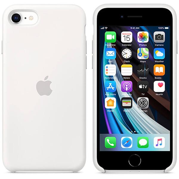 Силиконовый чехол iLoungeMax Silicone Case White для iPhone SE 2020 | 8 | 7 OEM (MXYJ2)